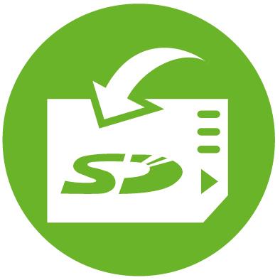 jProbe поддержка карт памяти SD до 32 ГБ