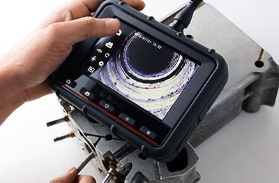 Сенсорный дисплей видеоэндоскопа jProbe PX mini