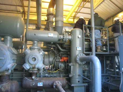 Компрессор природного газа WAUKESHAW 7042