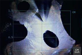 Видеоэндоскоп jProbe GX функция измерения геометрических параметров дефектов