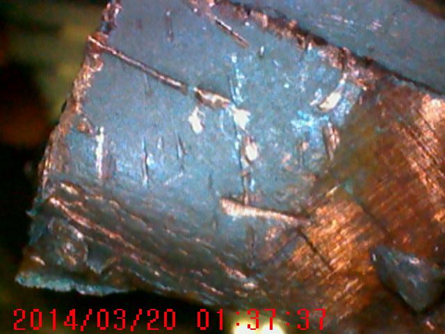 Эндоскопический снимок сделанный с использованием макро зонда jProbe