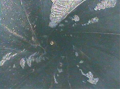 Грязь в роторе - эндоскопия буровой установки Видеоэндоскоп jProbe VJ-ADV